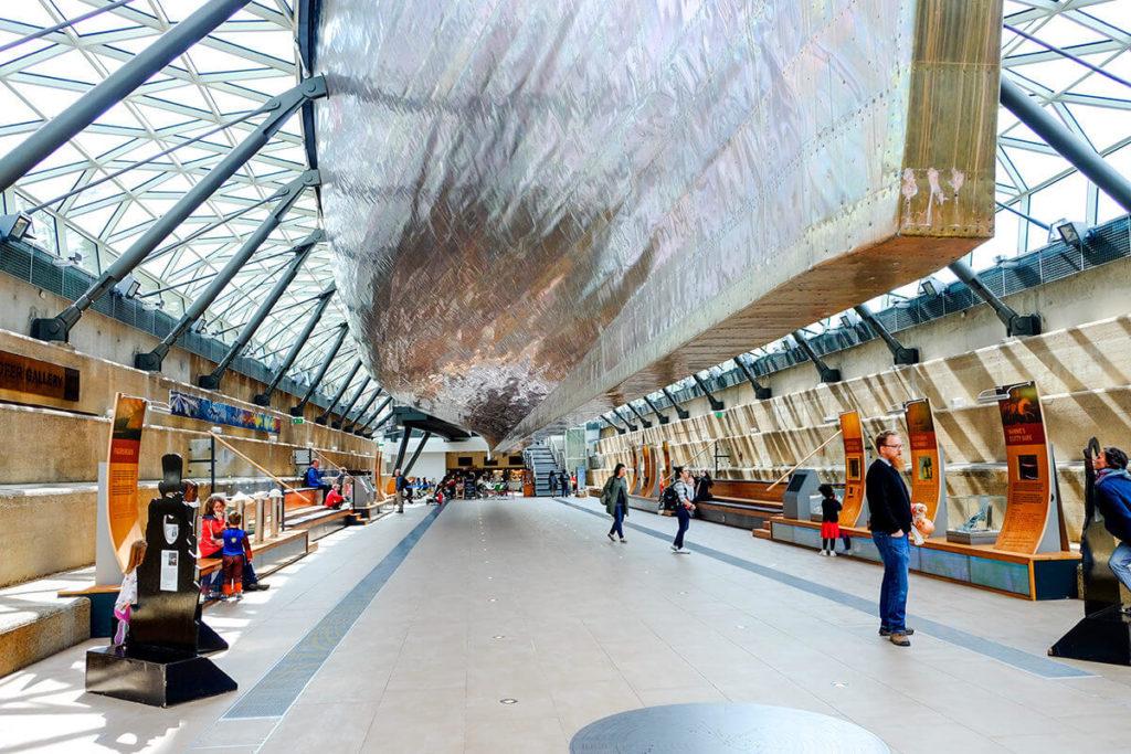Музей-корабль «Катти Сарк», Лондон