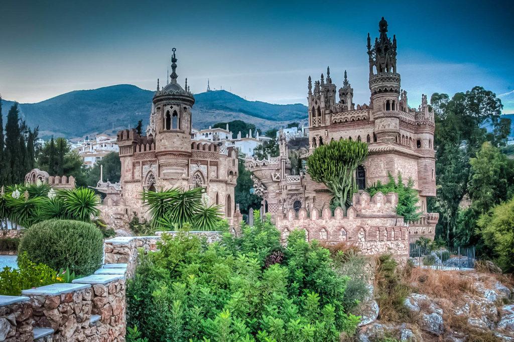 Замок Коломарес (г. Бенальмадена), Испания