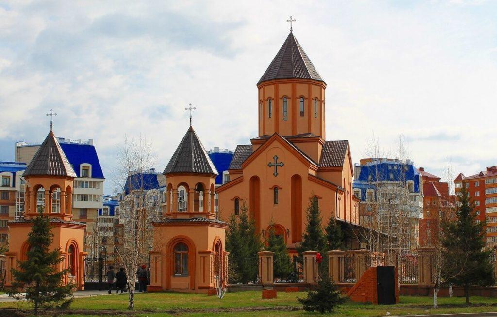 Церковь Святого Саркиса, Красноярск