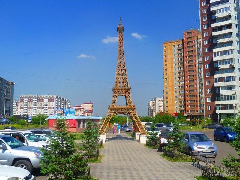 Эйфелева башня, Красноярск