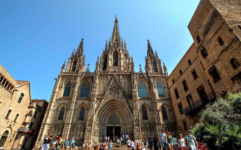 Кафедральный собор (г. Барселона), Испания