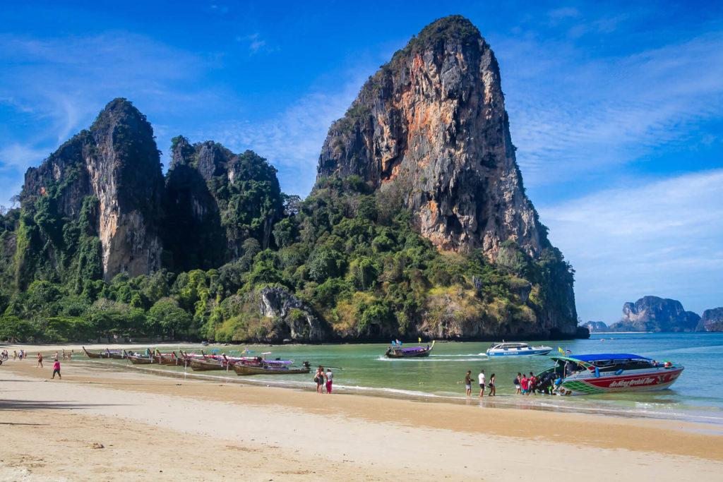 Пляж Рейли, Таиланд