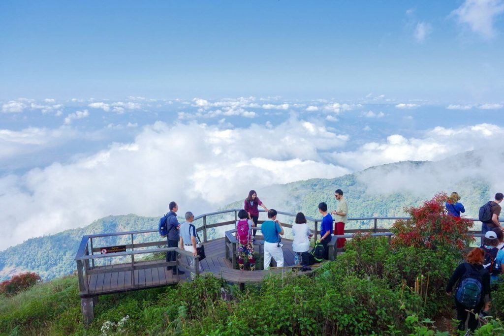 гора Дойинтанон, Тайланд